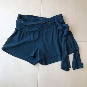 Free People Draped Belted Shorts SH139